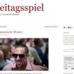 Freitagsspiel: Fußball-Weblog für Feinschmecker