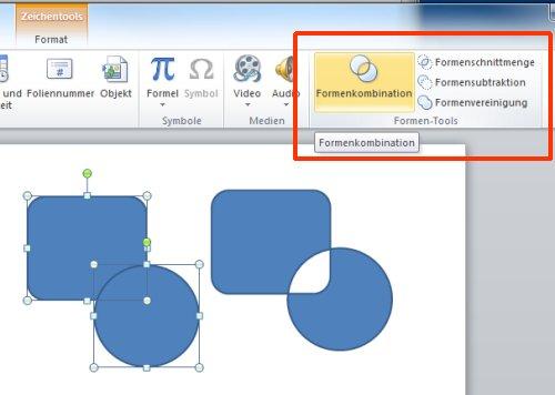 Powerpoint 2010 Formen