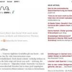 Neues aus der Blogosphäre: Rivva wieder am Start