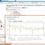 Amazon: Preis-Trends überwachen