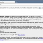 Inkognito unterwegs im Web: Surfspuren in Chrome verhindern
