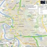 Stau-Anzeige per Google Maps