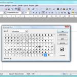 OpenOffice Writer: Sonderzeichen in Dokumente einfügen
