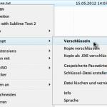 Einzelne Dateien verschlüsseln mit AxCrypt