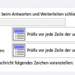 Outlook: Original-Nachricht beim Antworten mit Einrückungszeichen versehen