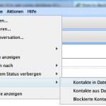 Datensicherung Ihrer Skype-Kontaktliste anlegen