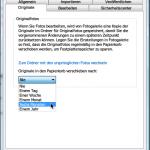Windows Live Foto-Galerie: Festlegen, wann und ob Original-Bilder gelöscht werden
