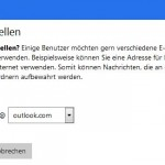 Für Ihr Hotmail-Konto auch eine outlook.com-Adresse hinzufügen