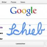 Google per Handschrift durchsuchen