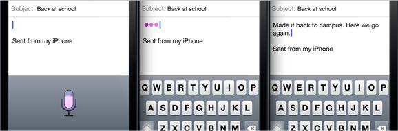 emails per spracheingabe diktieren mit dem iphone 5. Black Bedroom Furniture Sets. Home Design Ideas