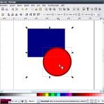 So markieren Sie mehrere Objekte auf einmal in Inkscape