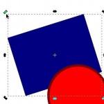 Vektor-Zeichenprogramm Inkscape: Objekte frei drehen