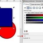 Objekte mit Schatten versehen in Inkscape