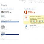 So stellen Sie in Office 2013 Hintergrund und Design ein
