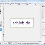 GIMP: Text mit Farbverlauf oder Muster einfärben