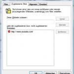 Webseite im Internet Explorer blockieren (sperren)