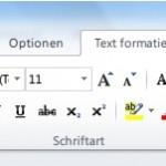 Outlook: So stellen Sie Absatzformate in einem Mail-Fenster ein