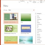 Passende Vorlagen für Ihre nächste PowerPoint-Präsentation finden