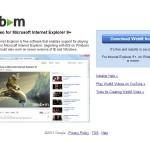 Internet Explorer: Unterstützung für den WebM-Codec hinzufügen