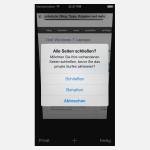 So verwenden Sie privates Browsen mit Safari in iOS 7
