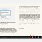 Webseiten einfacher lesen mit der Leseansicht von IE11