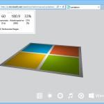 Leistung von Internet Explorer 11 mit eingebautem Benchmark testen