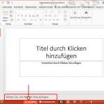 PowerPoint: Folien-Notizen ein- oder ausblenden