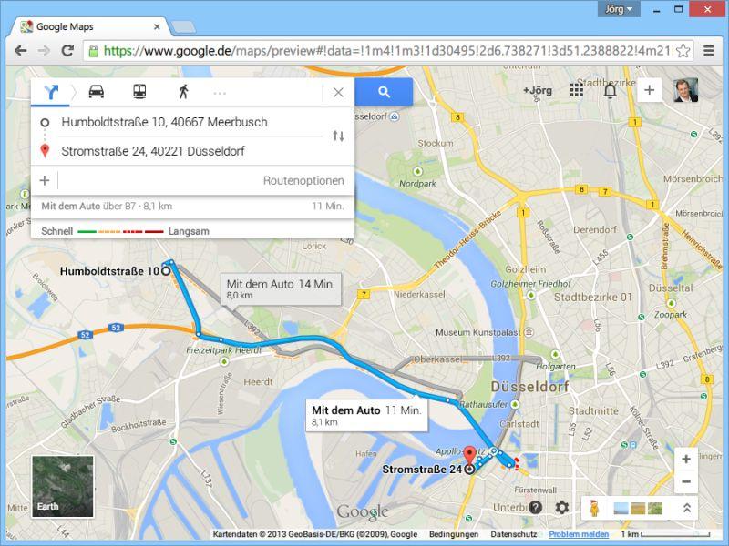 google maps routenplaner kostenlos. Black Bedroom Furniture Sets. Home Design Ideas
