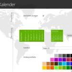 Monats-Kalender auf Windows-Startseite anzeigen