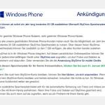 Gratis 20 GB Speicher-Platz für Windows Phone-Nutzer