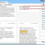 Google Chrome: Text auf einer Webseite schneller finden