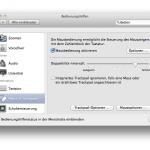 OSX: Maus per Tastatur steuern