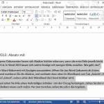 Word 2013: Absatz per Lineal mit Einzug formatieren