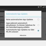 Android: Neue Versionen Ihrer Apps nur per WLAN laden