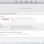 OSX: Welche Updates hat Ihr Mac kürzlich installiert?