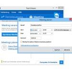 Mit TeamViewer ein Meeting planen und andere einladen