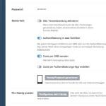 Tumblr-Konto mit 2-Faktor-Authentifizierung sichern