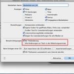 Mac: Mitteilungen für Song-Wiedergabe mit iTunes anzeigen
