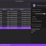 Kostenloser Konverter für Bilder ins WebP-Format