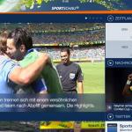 WM2014: Im Internet wird 90 Sekunden später gejubelt