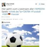 WM 2014: Ländersymbole auf Twitter nutzen