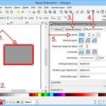 Kostenlose Zeichen-App Inkscape: Rechtecke mit dicker Kontur