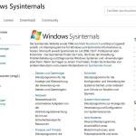 Profitipp: Was sind die Sysinternals-Werkzeuge?