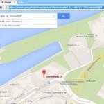 Google-Maps-Kartenansicht an andere weitergeben