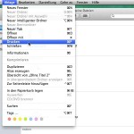 Mac: Zeit sparen und Dateien direkt vom Finder drucken