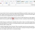 Microsoft Word: Text ist aus Versehen rechtsbündig ausgerichtet?