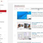 YouTube: History abgespielter Videos löschen