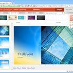 PowerPoint Online: Eigenes Hintergrundbild verwenden