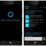 Sprach-Assistentin Cortana gratis auf Deutsch testen