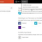Windows-Kontaktliste ausdrucken